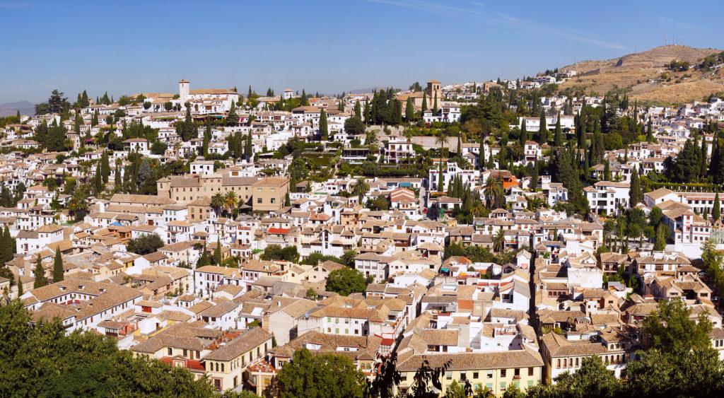 Albaicin from Alhambra