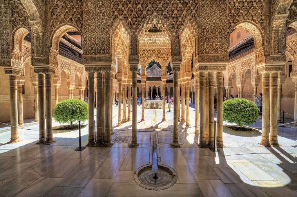 Alhambra - Lions Courtyard