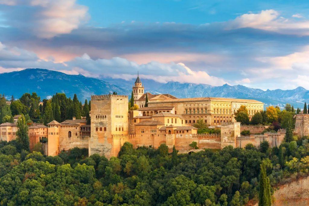 Alhambra from Albaicin